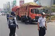 Langgar Perjanjian, 16 Truk Sampah DKI Dihentikan Dishub Kota Bekasi