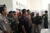 Kapolda Jabar dan Pangdam III/Siliwangi Pantau Penghitungan Suara Tingkat PPK di Karawang