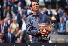 Nadal Tak Mau Iri dengan Rekor Federer