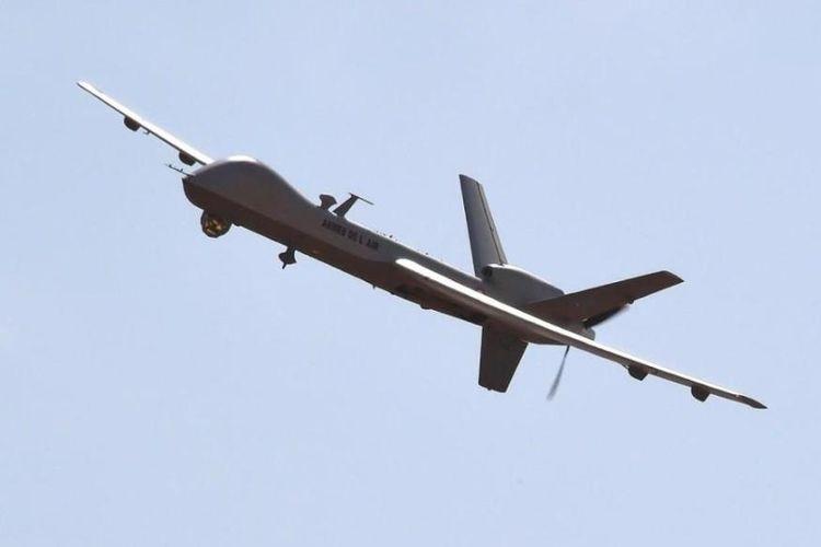 Ilustrasi pesawat nirawak atau drone milik militer AS.