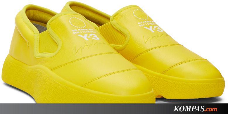 028ba6081154 Melirik Sneakers Chunky Slip-On Ala Adidas