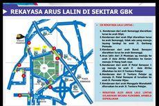 Ada Persija Vs PSM Makassar, Ini Rekayasa Lalin hingga Kantong Parkirnya