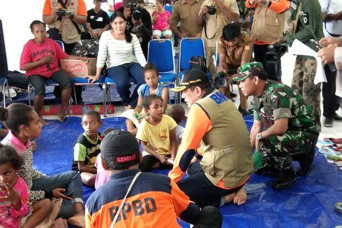 Permudah Distribusi Bantuan, Pos Pengungsi Banjir Bandang Jayapura Dipangkas Jadi 6 Titik