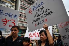 12 Minggu Demo Hong Kong, 180 Polisi Terluka, Keluarga dan Kerabat Jadi Sasaran Intimidasi