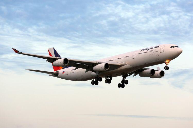 Pesawat Philippine Airlines.