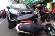 Honda HRV Tabrak 3 Kendaraan di Purwokerto, 1 Orang Tewas