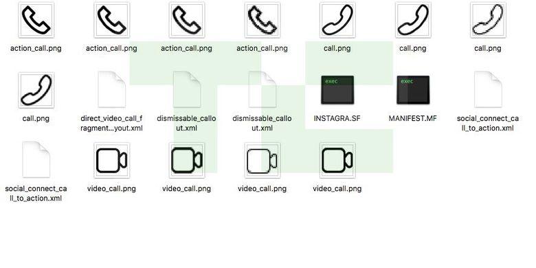 Bocoran fitur telepon dan video call Instagram di APK