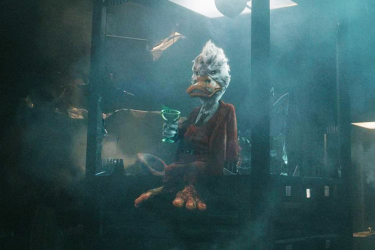 Howard the Duck (Seth Green) dalam Guardian of the Galaxy.