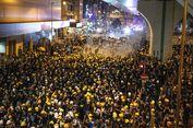China Sebut Unjuk Rasa di Hong Kong Dilakukan Perusuh dan Tak Bisa Ditoleransi