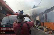 Kebakaran di Pemukiman Padat Ternate, 12 Rumah dan Kantor Lurah Ludes