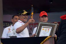 28.606 Peserta Senam Tobelo di Ternate Pecahkan Rekor ORI