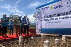 PLTMG Manokwari Mulai Dibangun, Kapasitasnya 20 Megawatt