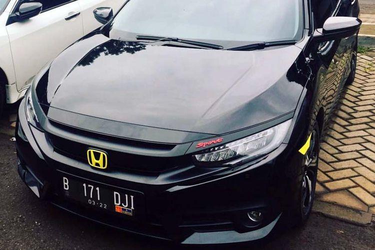Honda Civic Turbo milik Eko Agus Sistiaji, konsumen yang mengajukan gugatan ke Honda Prospect Motor