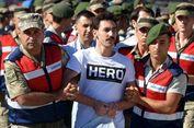 Terdakwa Kudeta Pakai Kaus 'Hero', Inikah Reaksi Presiden Erdogan?