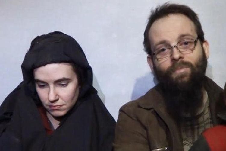 Joshua Boyle dari Kanada dan istrinya yang adalah warga AS, Caitlan Coleman diculik oleh Taliban Afganistan di tahun 2012 silam.