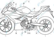 Gambar Paten Calon Motor Sport 2-Silinder 250cc Suzuki