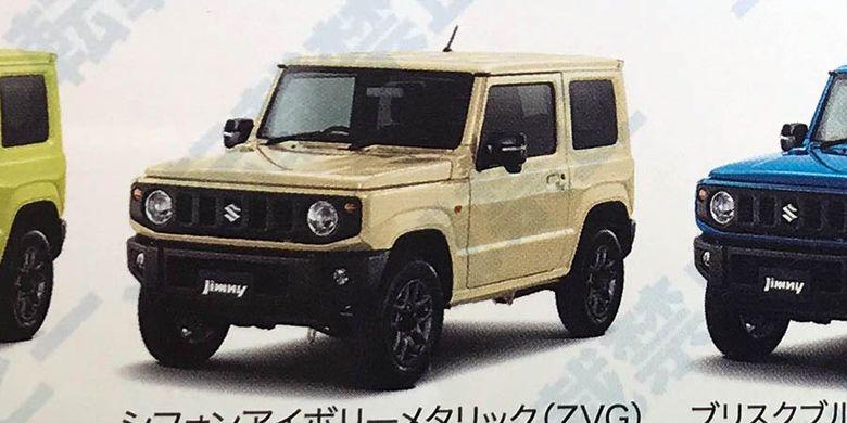 Brosur Suzuki Jimny bocor.