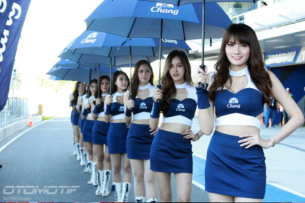 Grid Girls Sirkuit Buriram, Thailand - 17