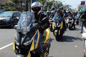 Komunitas Motor Maxi Yamaha Kumpul di Borobudur