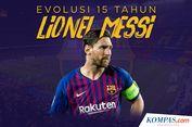 INFOGRAFIK: Evolusi 15 Tahun Lionel Messi bersama Barcelona...
