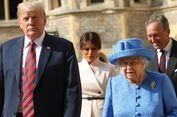 Trump dan Istrinya Diundang Ratu Elizabeth II Makan Malam