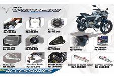 """Aksesori """"Obat Ganteng"""" Yamaha All New V-Ixion"""
