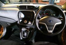 Interior Datsun Cross Sudah Kekinian