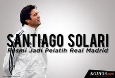 INFOGRAFIK: Real Madrid Resmi Tunjuk Santiago Solari Jadi Pelatih