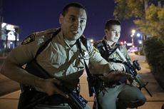 Penembakan di Kasino Las Vegas, Pelaku dalam Pengejaran