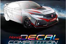 Kompetisi Desain Stiker Honda Civic Type R