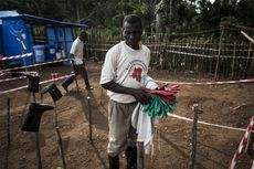 Perangi Ebola, Kongo Gunakan Vaksin Eksperimental dan Strategi Cincin