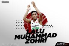 INFOGRAFIK: Lalu Muhammad Zohri