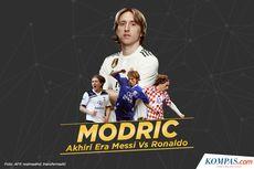 Usai Sabet Ballon d'Or, Modric Mengaku Ingin Akhiri Karier di Madrid