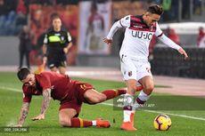 AS Roma Vs Bologna, Di Francesco Tak Senang meski Menang