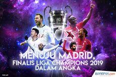 INFOGRAFIK: Menuju Madrid, Finalis Liga Champions 2019 dalam Angka