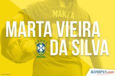 INFOGRAFIK: Marta Cetak Rekor Gol Piala Dunia, Lewati Miroslav Klose
