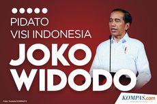 INFOGRAFIK: 5 Poin Pidato Visi Indonesia Jokowi