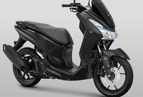 Yamaha Lexi Punya Warna Baru