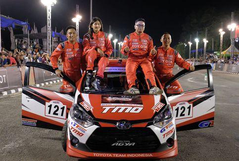 Prestasi Toyota Agya di Kejuaraan Slalom Nasional