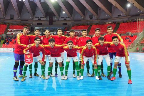 Kualifikasi Piala Asia U-20 Futsal, Indonesia Menang 9-0 atas Myanmar