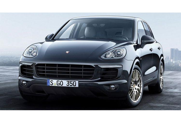 Porsche Cayenne yang mesin diesel 3.000 cc-nya disinyalir terlibat skandal emisi bahan bakar.