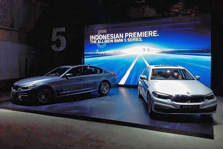 Penampilan BMW Seri 5 terbaru.