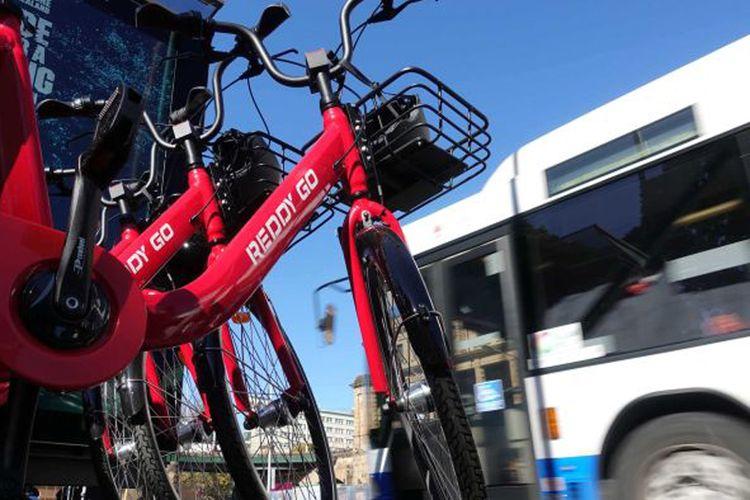 Sistem berbagi sepeda sekarang juga sudah tersedia di Sydney