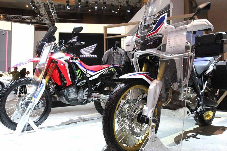 Jajaran big bike dan motor premium Honda siap manjakan pengunjung GIIAS 2017.