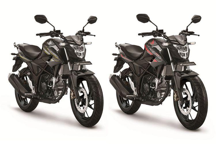 Honda CB150R SE standar dengan stipe baru.