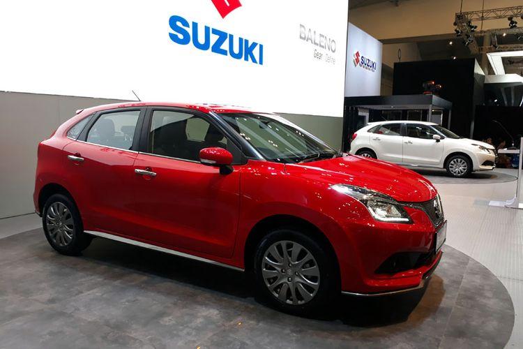 Suzuki Baleno Hatchback meluncur dari GIIAS 2017.