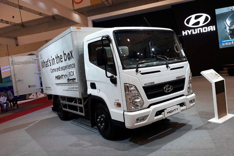 Mighty, truk ringan untuk ekspedisi dari Hyundai Truck and Bus.