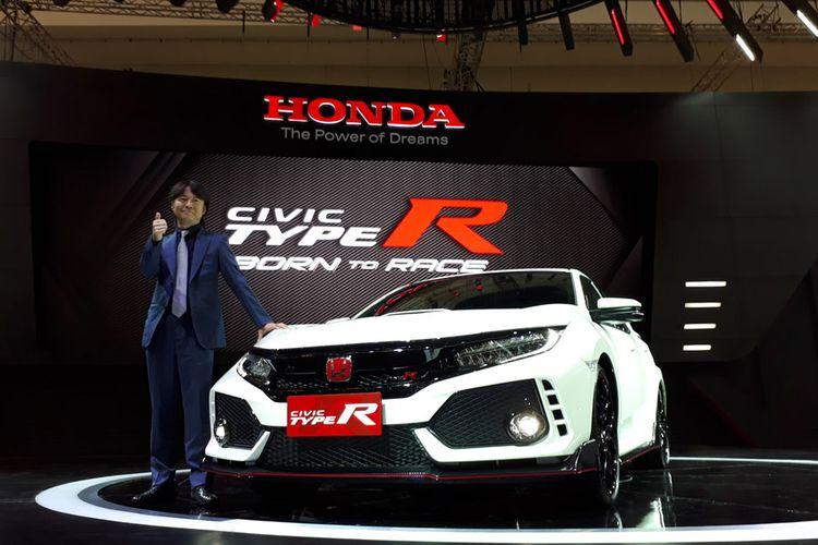 Hideki Kakinuma, Chief Engineer and Assistant LPL of Civic Type R, Honda R&D di GIIAS 2017.