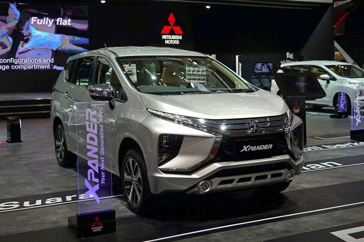 Mitsubishi Xpander di GIIAS 2017.