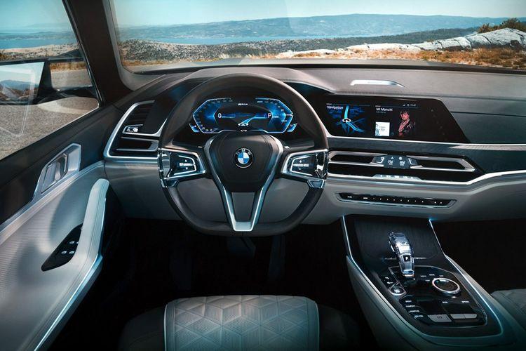 Interior BMW X7.